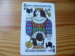 Pocket Calendar, Hungary - Playing Card - Calendriers