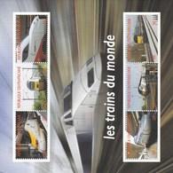 Centrafrique MNH 2012 Trains - Trains