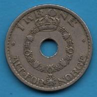 NORGE 1 KRONE 1940 KM# 385 Haakon VII - Norvège