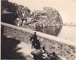 SCILLA CALABRE Italie  Août 1926 Photo Amateur Format Environ 6,5 Cm X 5,5 Cm - Luoghi