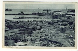 LIBIA  MASSAUA PORTO - Libia