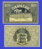 Danmark 500 Kroner 1931 - Danemark