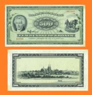 Danmark 500 Kroner 1965 - Danemark