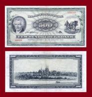 Danmark 500 Kroner 1975 - Denmark
