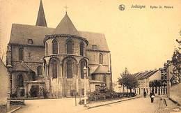 Jodoigne - Eglise St Médard (R. Borlée, Animée) - Jodoigne