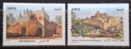 Libya 2015 NEW MNH Complete Set 2v. - Famous Ancient Palace & Fortress - Libya