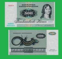 Danmark 500 Kroner 1980 - Danemark