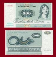 Danmark 500 Kroner 1988 - Danemark