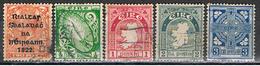 (IRL 4) EIRE // YVERT 23, 40, 41, 43, 45 // 1922-24 - 1922-37 Stato Libero D'Irlanda
