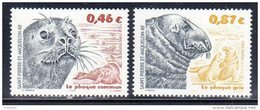 ST PIERRE ET MIQUELON - 2002 -  N° 774/775 ** Les Phoques - St.Pierre & Miquelon