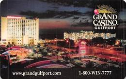 Grand Casino Gulfport MS Phone Card - Casinokarten