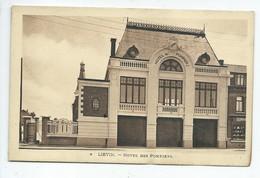 Carte Postale Abimée - LIEVIN - Hotel Des Pompiers - Lievin