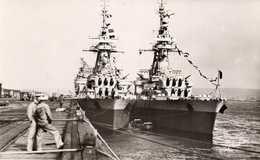 CHERBOURG -  La Marine Nationale - Les Croiseurs-Cuirassés G. Leygues Et Gloire - Krieg