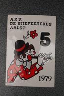 Aalst Karnaval Carnaval Jaren '70 / 1980  8 Stuks Enkele Zeldzame - Carnival
