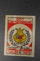 Aalst Karnaval Carnaval 1974 1977 1978   3 Stuks - Carnival