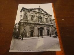 FOTO ALINARI -ROMA - CHIESA DI SANTA MARIA DELLA VITTORIA-(CARLO MADERNO) 25X20 CIRCA - Luoghi