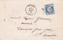 304  -  CERES  60   PARIS  LA  ROCHE SUR YON - Postmark Collection (Covers)
