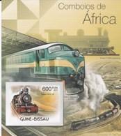 Guinée Bissau MNH 2012 Trains - Trains