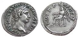 [H] +++ AR Denarius / Denier - TRAJAN -- RIC 10 -- Victory Reverse -- BEAUTIFUL +++ - 3. Die Antoninische Dynastie (96 / 192)