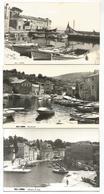 3 POSTCARD WITH VIEW OF VELI LOSINJ ( LUSSINGRANDE ) , ROVENSKA - OBALA M. TITA . - Croazia