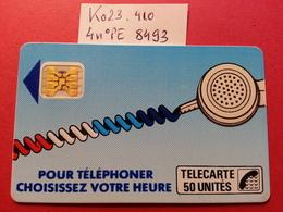 Ko23 .410 Cordon Bleu Jean 50u SC4obSE - Texte 7 Sous E - Trou 7 - Lot 4 PE N°8493 - France
