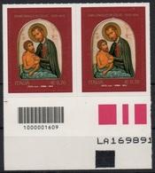 Italia - Repubblica 2014 - 400º Anniversario Della Morte Di S.Camillo De Lellis €. 0,70, Nuovo Coppia Con Codice A Barre - 6. 1946-.. Republic
