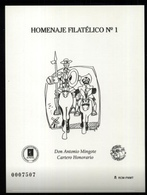ESPAÑA SPAIN ESPAGNE SPANIEN EDIFIL HOMENAJE FILATÉLICO 1 ANTONIO MINGOTE 2005 MNH - 1931-Hoy: 2ª República - ... Juan Carlos I