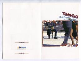 TANGO - RAM KLONG YAO. ARGENTINA - THAILAND. EMISION CONJUNTA,JOINT EMISSION. 2005 FOLDER WITH BOTH SETS. DANCE -LILHU - Tailandia