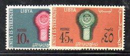APR1301 - LIBIA LYBIA 1968 , Yvert  N. 320/321  ***  MNH . (2380A) - Libia
