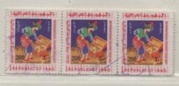 Irak 1967 Aladdin MiNr. 512 Gestempelt 3er Streifen Iraq Used Scott C25; Yt: PA25 - Irak