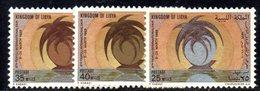 APR1352 - LIBIA LYBIA 1969 , Yvert  N. 342/344  ***  MNH . (2380A) - Libia