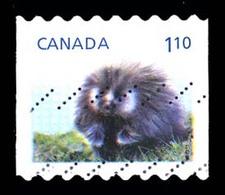 Canada (Scott No.2605 - Enfant De La Faune / Wildlife's Babys) (o) Bande / Coil - 1952-.... Règne D'Elizabeth II