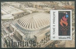 Sao Tomé Und Príncipe 1992 Olymp. Spiele Atlanta Block 287 Postfrisch (C27057) - Sao Tome Et Principe
