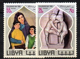 APR1400 - LIBIA LYBIA 1968 , Yvert  N. 318/319  ***  MNH . (2380A) - Libia