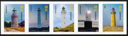 DENMARK/Dänemark, LIGHTHOUSES **  Set Of 5v** - Danimarca