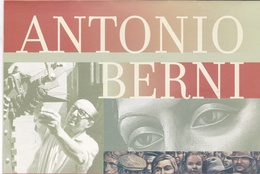 ANTONIO BERNI, BLOCK AND STAMP, FEUILLET HOJA. FDC OBLITERES 2005 ARGENTINA ARGENTINE ARTE ART -  LILHU - Argentine