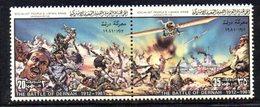 APR1401 - LIBIA LYBIA 1981 , Yvert  N. 899/900  ***  MNH . (2380A) Coppia Battaglia Dernah - Libia