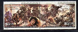 APR1402 - LIBIA LYBIA 1981 , Yvert  N. 927/928  ***  MNH . (2380A) Coppia Battaglia Werfella - Libia