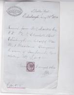 YEAR 1894 JAMES MC DOUGAL & SON RECEIPT WITH OFFICIAL SIGNEE - BLEUP - Reino Unido