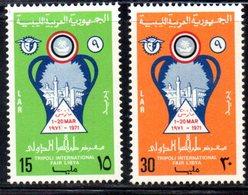 APR1407 - LIBIA LYBIA 1971 , Yvert  N. 384/385  ***  MNH . (2380A) - Libia