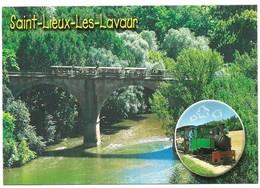 Saint Lieux Les Lavaur Le Viaduc Sur L' Agout Et Le Petit Train Touristique - Autres Communes