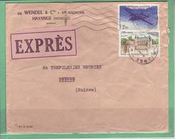 Maison Wendel & Cie Ste Anonyme  Hayange (Moselle)  1964 - Covers & Documents