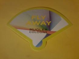 1 X Carte Eventail Fly Away Thierry Mugler - Cartes Parfumées