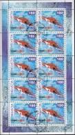 SCHWEIZ  1784, Kleinbogen, Gestempelt, 50 Jahre Schweizerische Rettungsflugwacht, 2002 - Blocs & Feuillets
