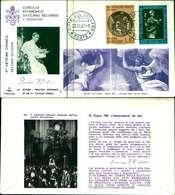 12098a)F.D.C.serie Concilio Ecumenico Vaticano II- 22-11-63 SESSIONE II-PAOLO VI - FDC