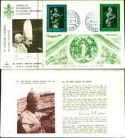 12097a)F.D.C.serie Concilio Ecumenico Vaticano II- 26-11-63 SESSIONE II-PAOLO VI - FDC