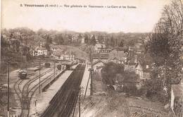 VAUCRESSON (Hauts De Seine) - Vue Générale De Vaucresson - La Gare Et Les Buttes - Vaucresson