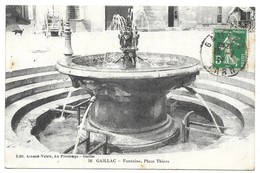 Gaillac Fontaine, Place Thiers - Gaillac