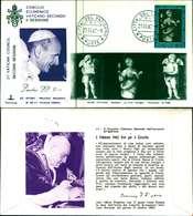 12099a)F.D.C.serie Concilio Ecumenico Vaticano II- 27-11-63 SESSIONE II-PAOLO VI - FDC