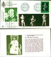 12100a)F.D.C.serie Concilio Ecumenico Vaticano II- 28-11-63 SESSIONE II-PAOLO VI - FDC